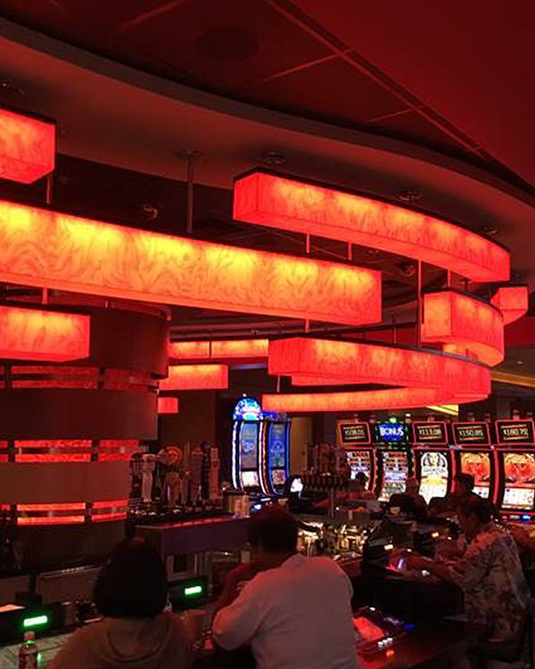 #235029 Custom Bar Pendants - Pechanga Resort Temecula, CA