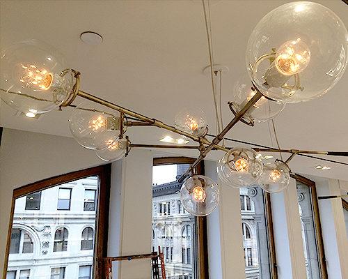 Soho Chandelier - Fresh NY Headquarters, NYC