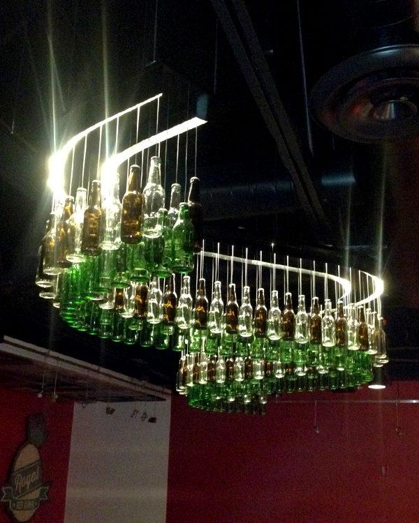 #235113 Spirits Chandelier - Red Robin Restaurants