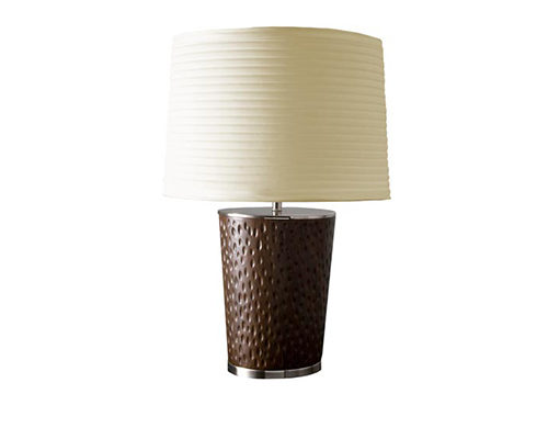 #235039 Woodgrain Table Lamp
