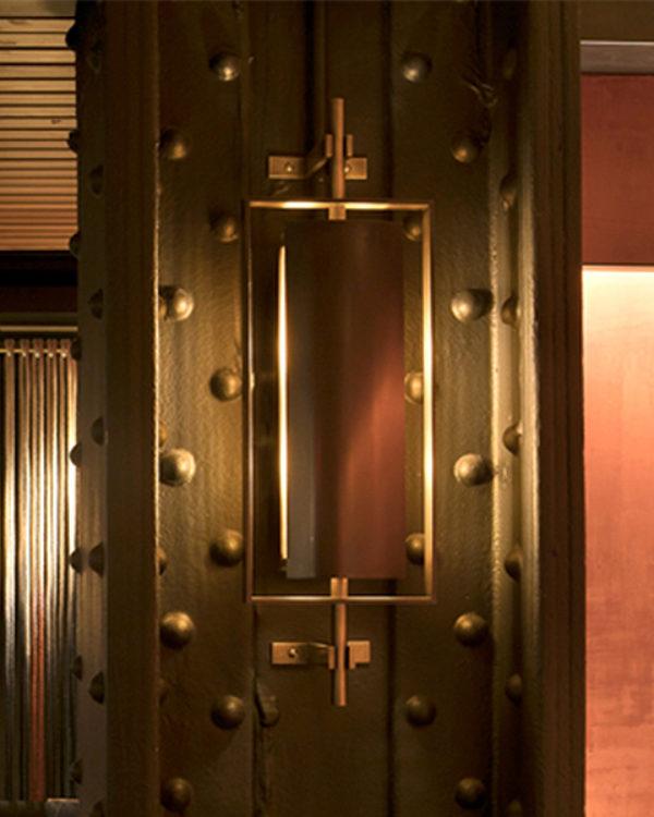 #236141 Soho Wall Sconce - Nobu Restaurant NYC