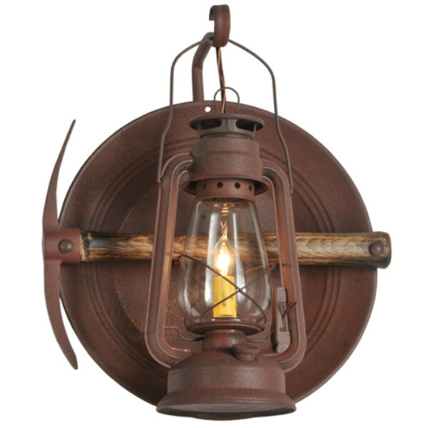 """8675449   14.5""""W Cavern Wall Sconce"""