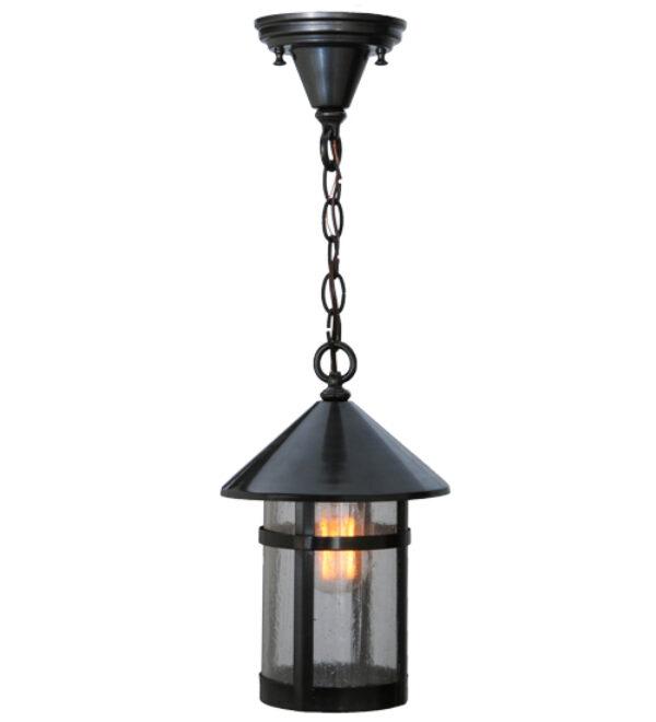 """8677050   8"""" Wide Elmsford Hanging Lantern Pendant"""