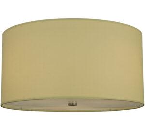 """8677145   24"""" Wide Simple Drum Flushmount"""