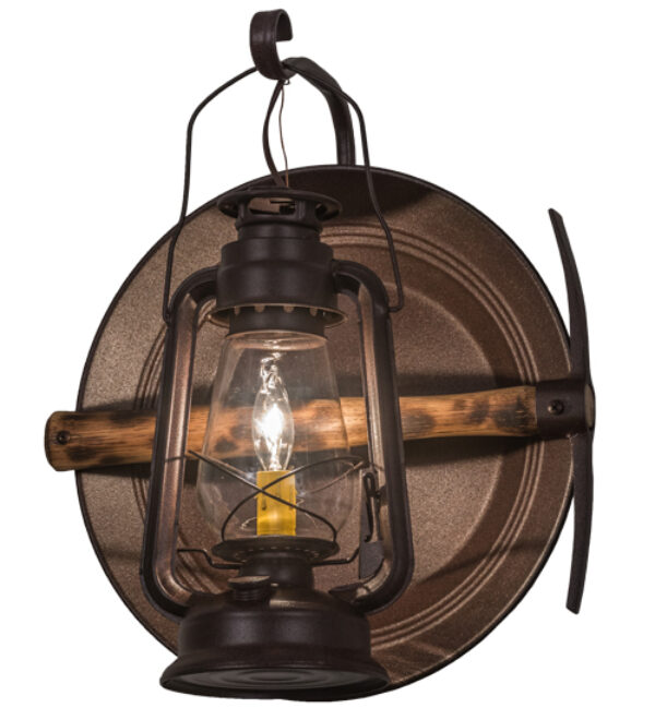 """8675614   14.5""""W Cavern Wall Sconce"""