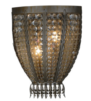 """8677549   17""""W Groussey Wall Sconce"""