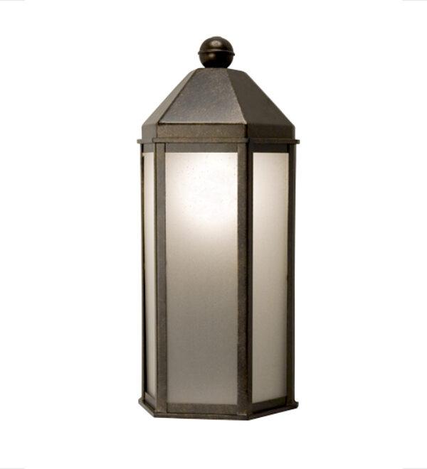 "8677675 | 9"" Wide TerryTown Lantern Wall Sconce"