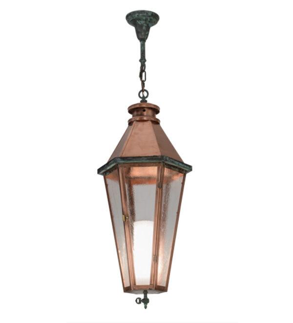 "8677799 | 14"" Wide Coppertop Lantern Pendant"