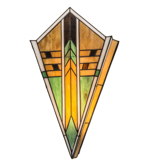 "8678091 | 14""W Deco Art Wall Sconce"