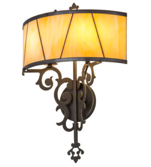 """8678193   15""""W Pascal Wall Sconce"""