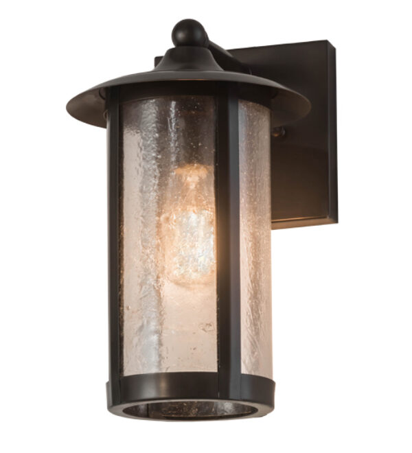 """8676032   8""""W Elmsford Solid Mount Wall Sconce"""