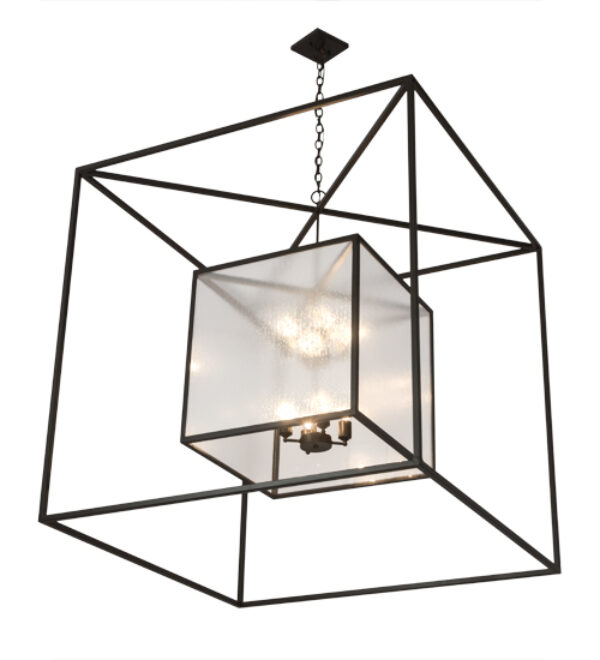 "8676074 | 48"" Square Geometric ClubHouse Pendant"