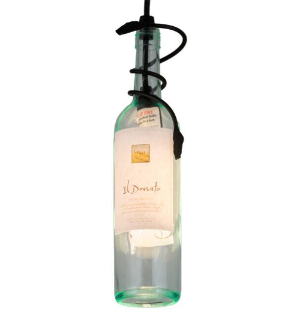 "8678554 | 3"" Wide Winery Personalized Mambo Wine Bottle Pendant"