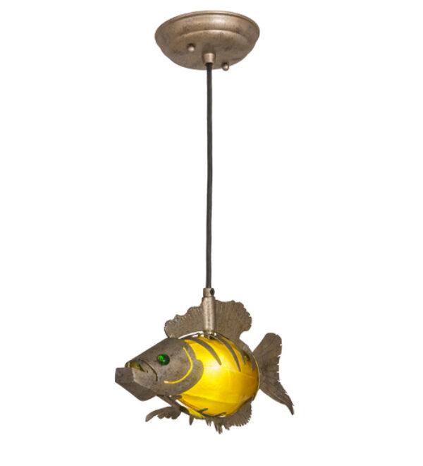 """8678603   12"""" Long Fish Pendant"""