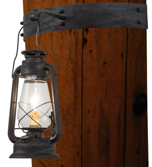 """8678655   17""""W Cavern Wall Sconce"""