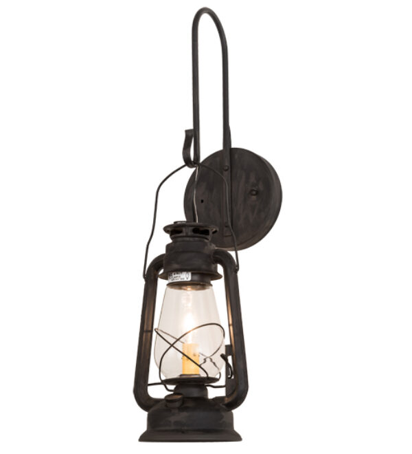 """8676226   7""""W Cavern Wall Sconce"""