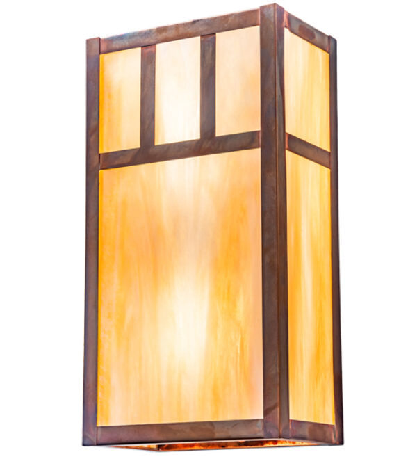 """8676372   6.5"""" Wide Roosevelt Wall Sconce"""