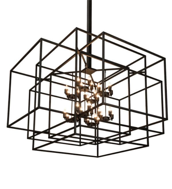 "8679027 | 72"" Square Geometric ClubHouse Pendant"