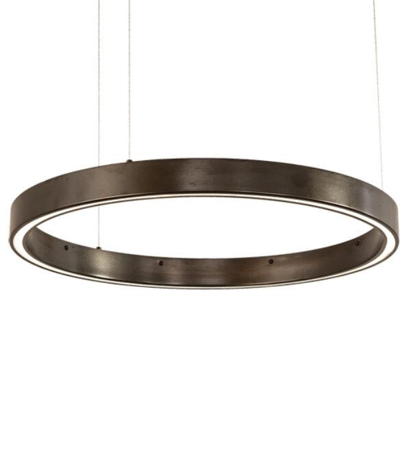 "8676416   24"" Wide Razor Rings Pendant"