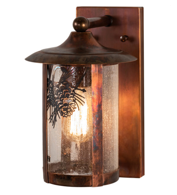 """8676474   8"""" Wide Elmsford Solid Mount Wall Sconce"""